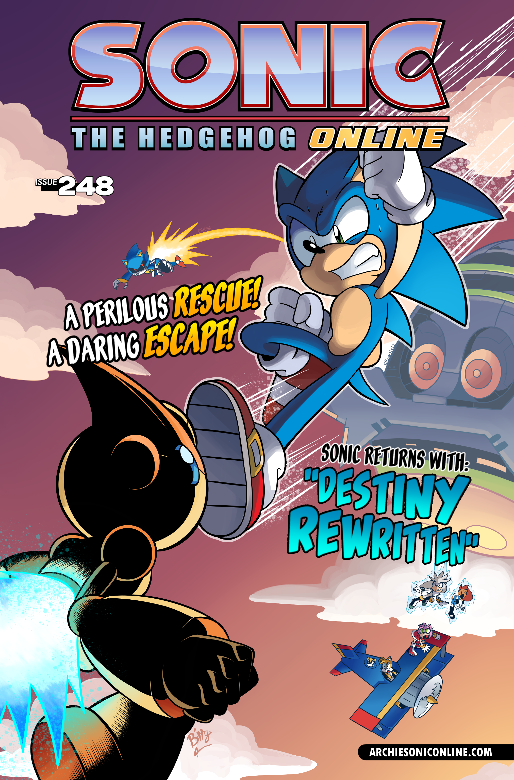 Sonic the Hedgehog Online #248 – Cover