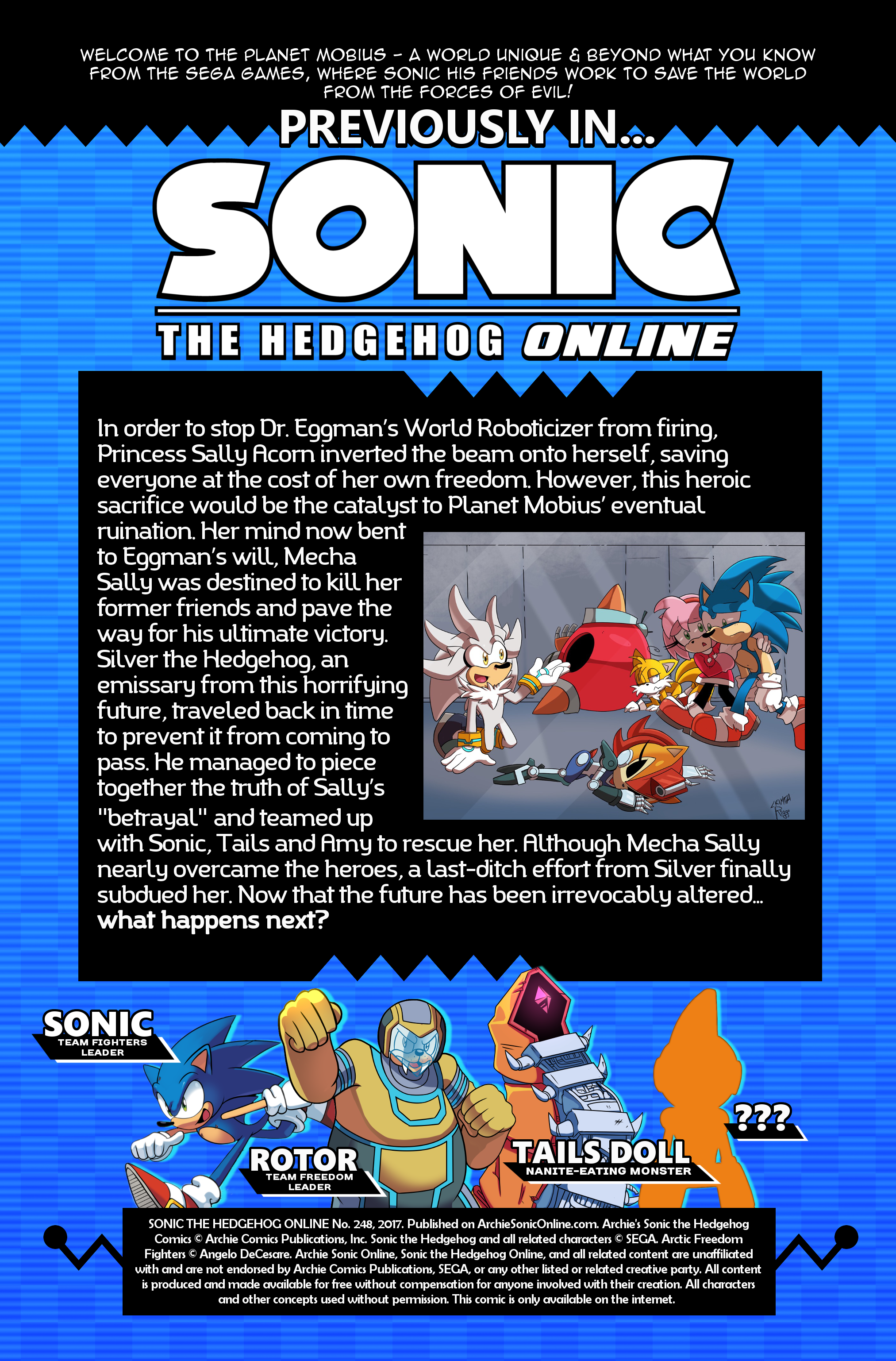 Sonic the Hedgehog Online #248 – Recap