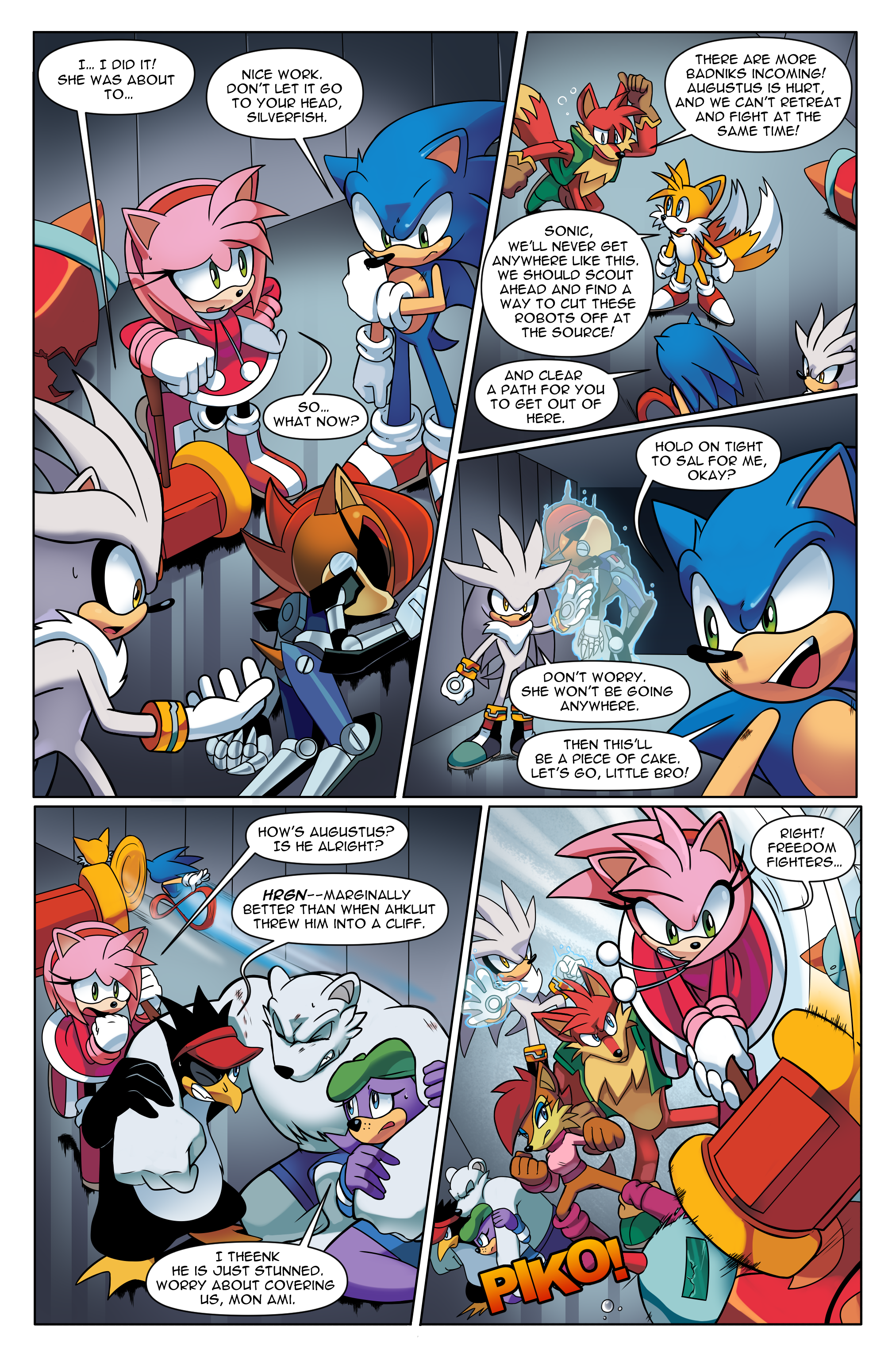 "Sonic the Hedgehog Online #248 – ""At All Costs, Part 2"" – Page 1"