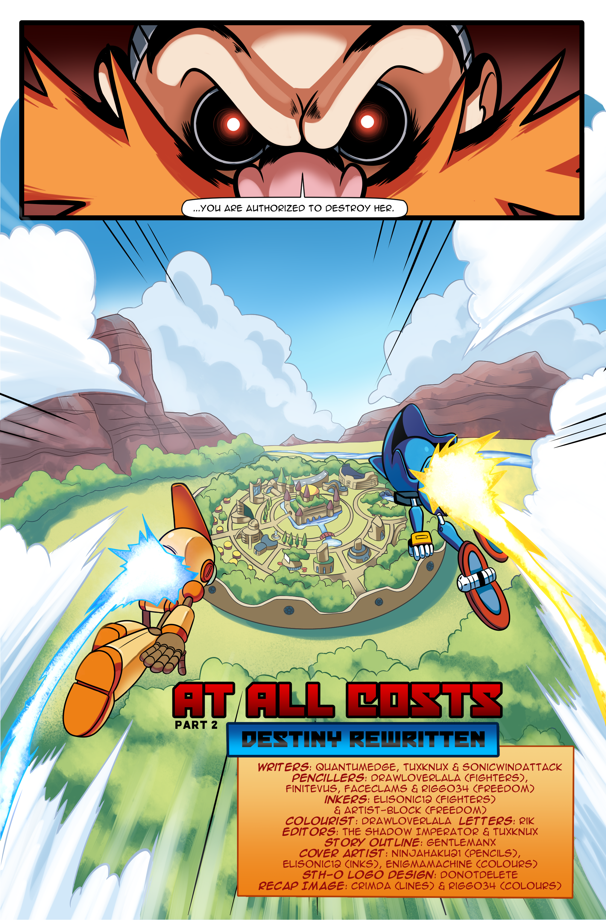 "Sonic the Hedgehog Online #248 – ""At All Costs, Part 2"" – Page 20"