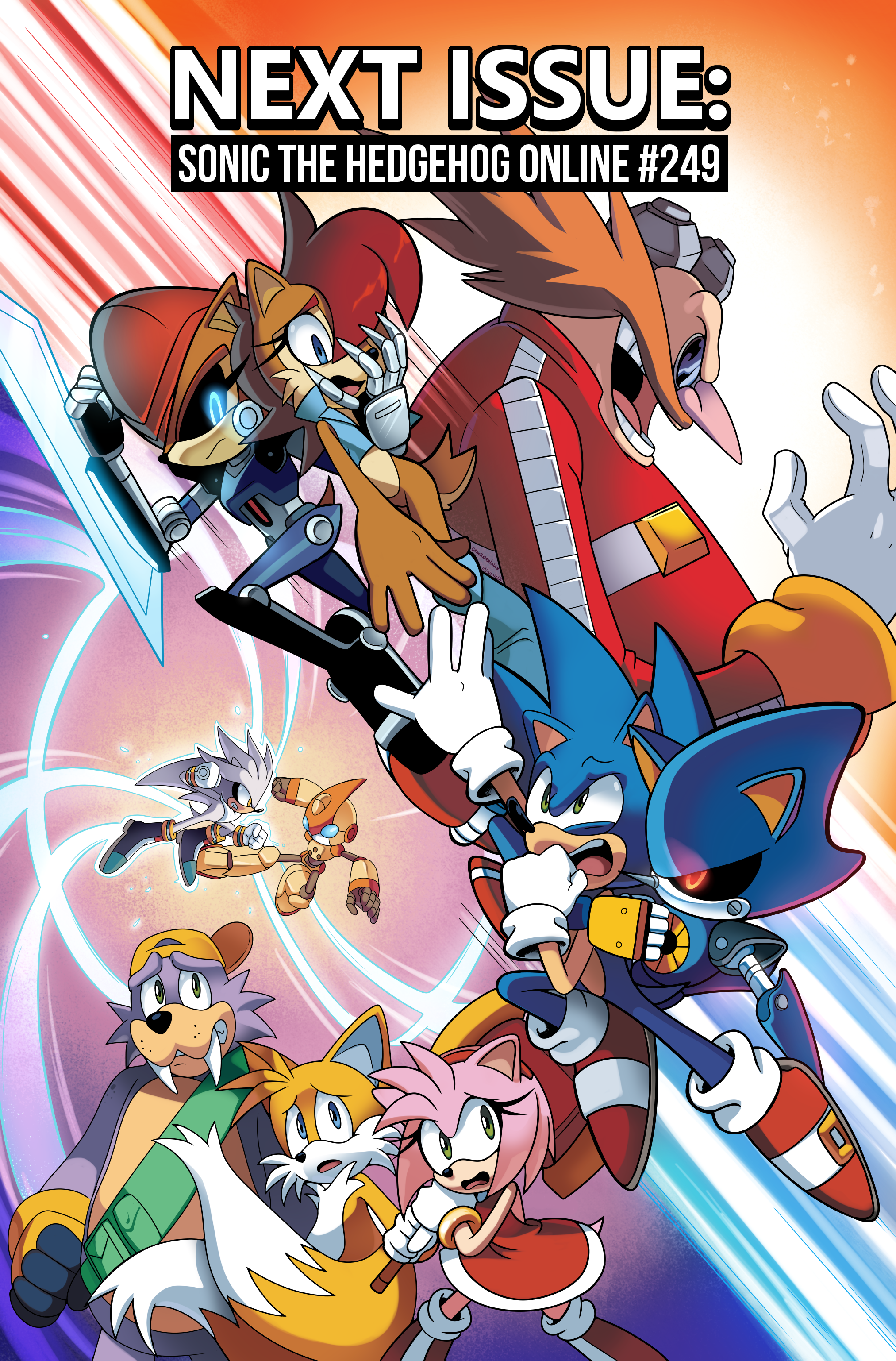 Sonic the Hedgehog Online #248 – Preview