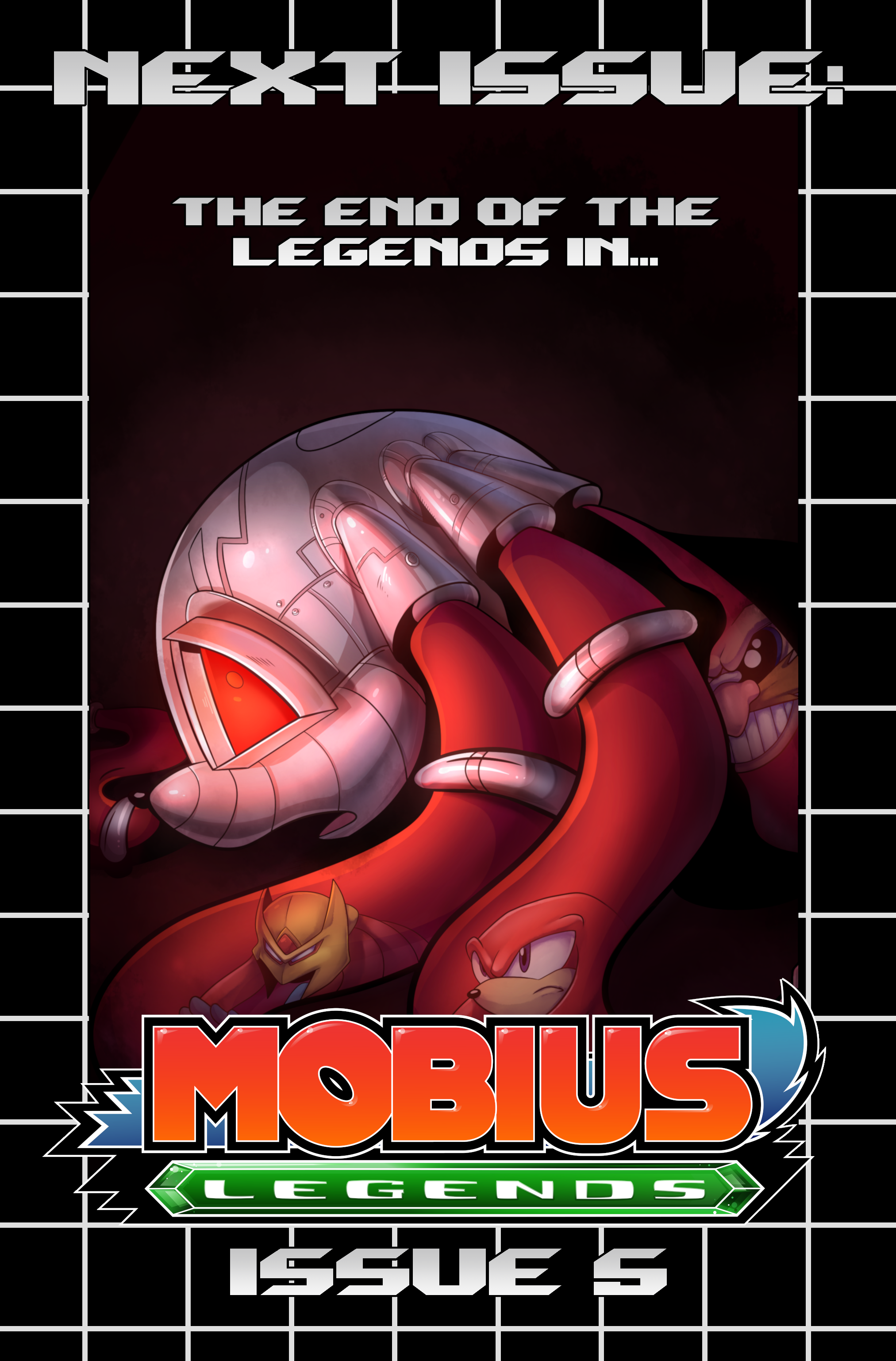 Mobius Legends #4 – Preview