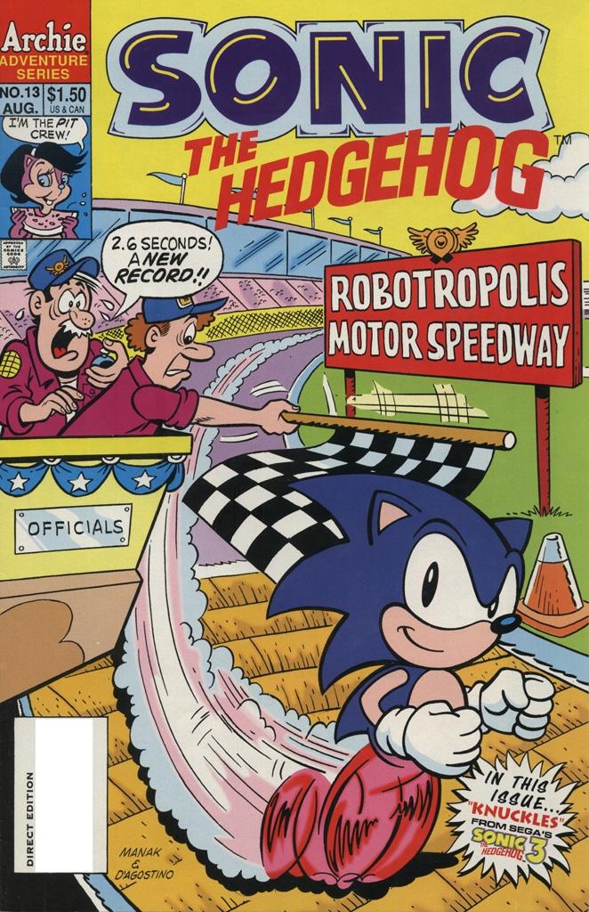 Sonic the Hedgehog #13