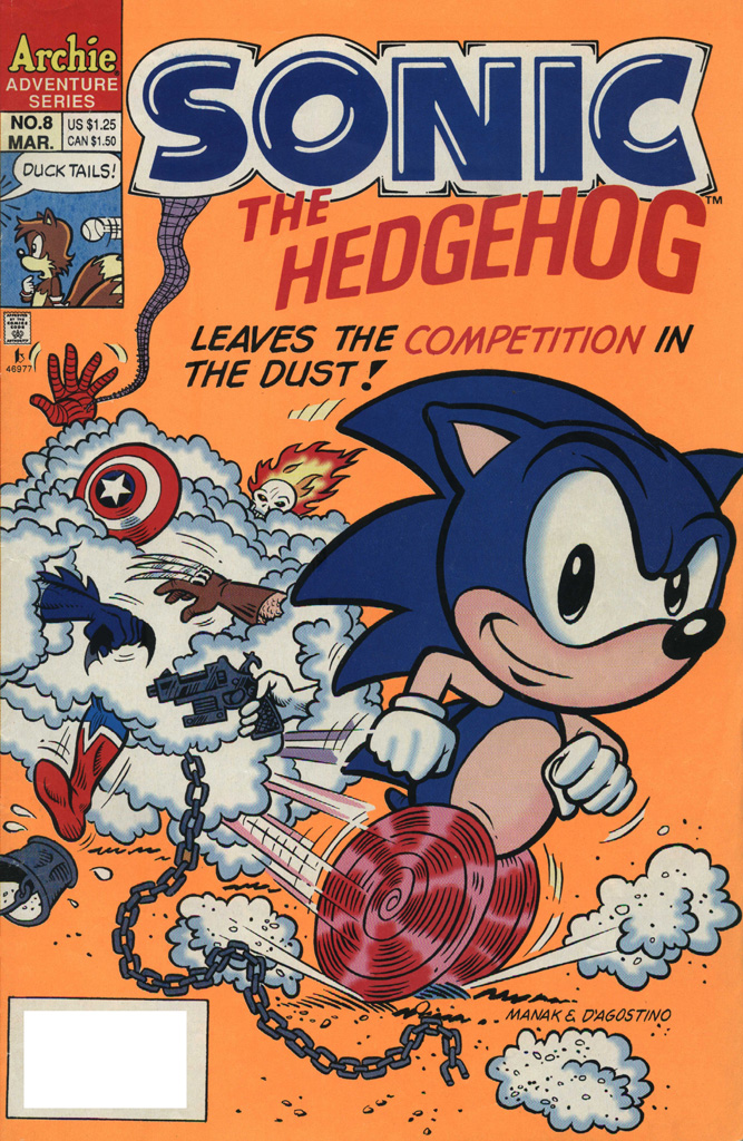 Sonic the Hedgehog #8