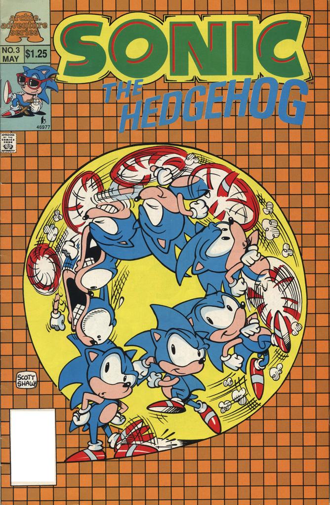 Sonic the Hedgehog Ltd. #3