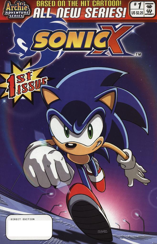 Sonic X #1
