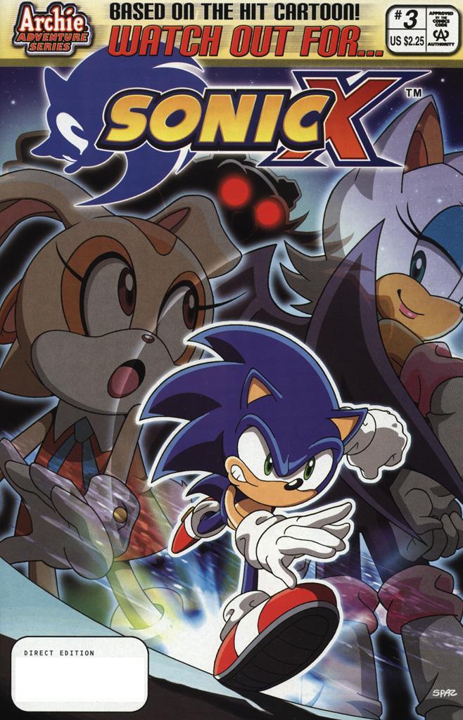 Sonic X #3