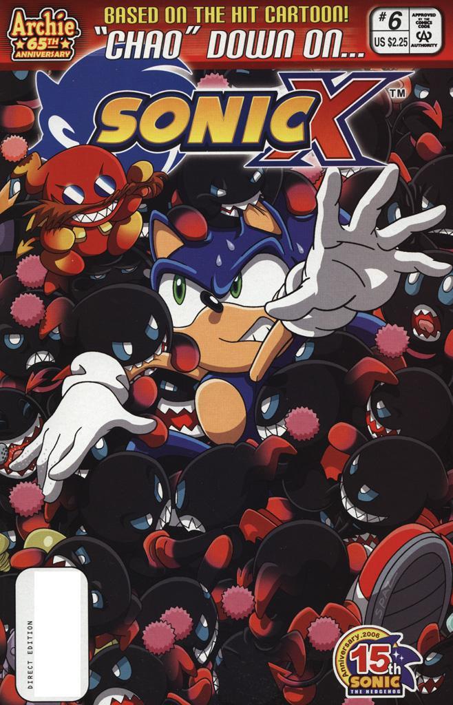 Sonic X #6