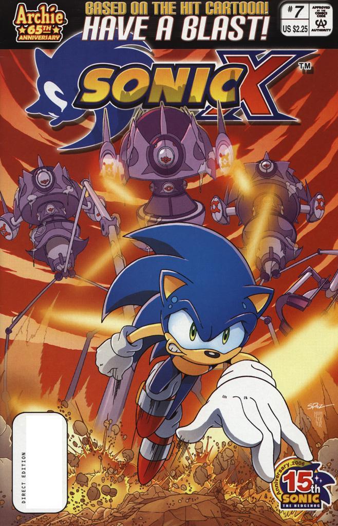 Sonic X #7