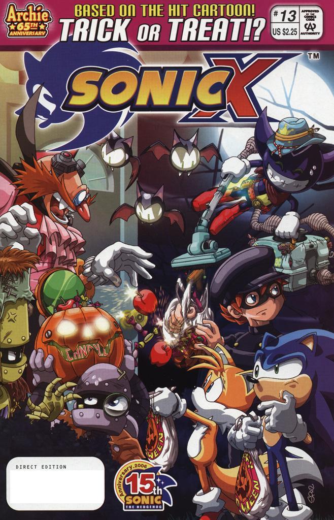 Sonic X #13