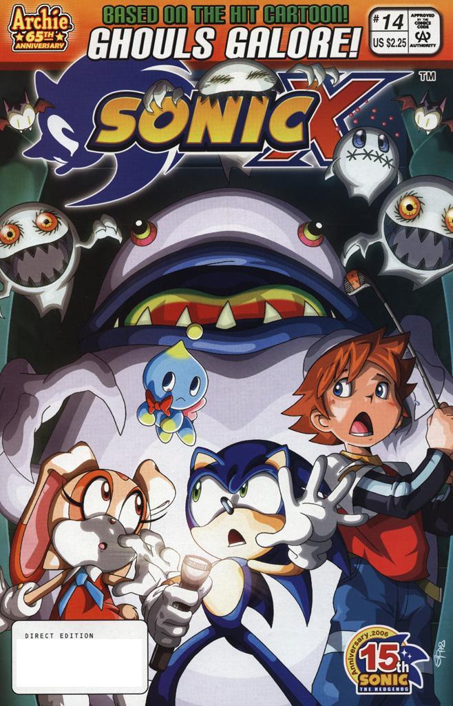 Sonic X #14