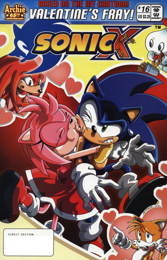 Sonic X #16