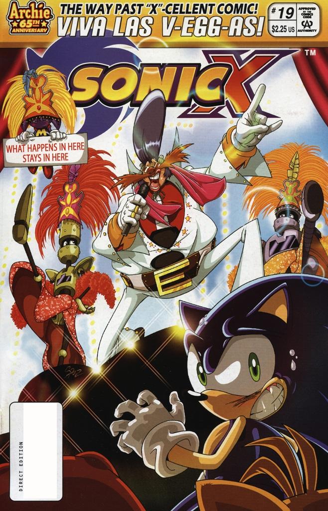 Sonic X #19