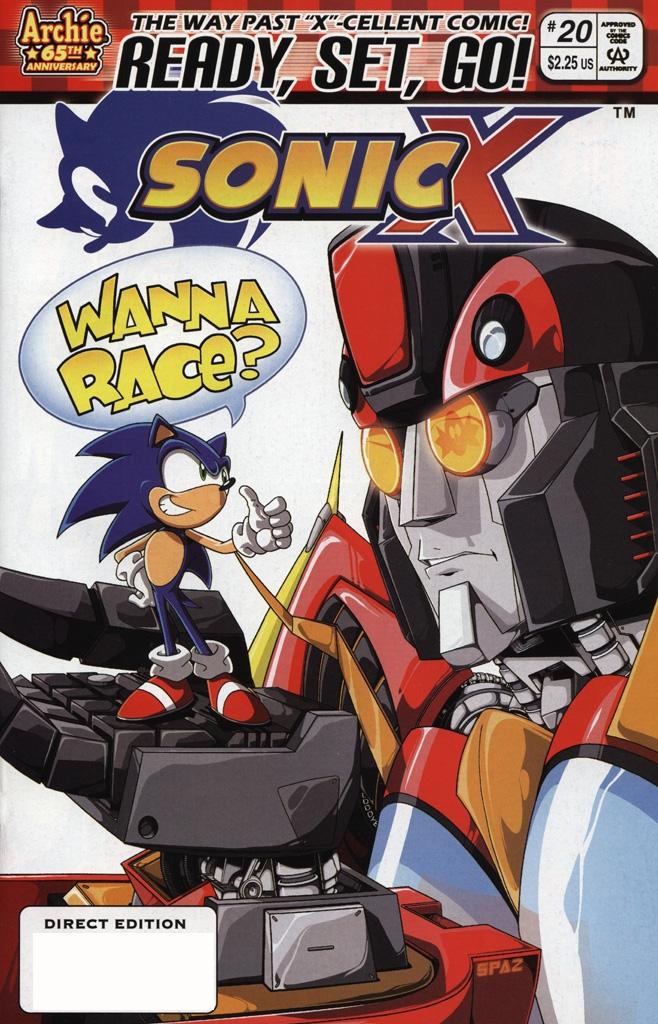 Sonic X #20