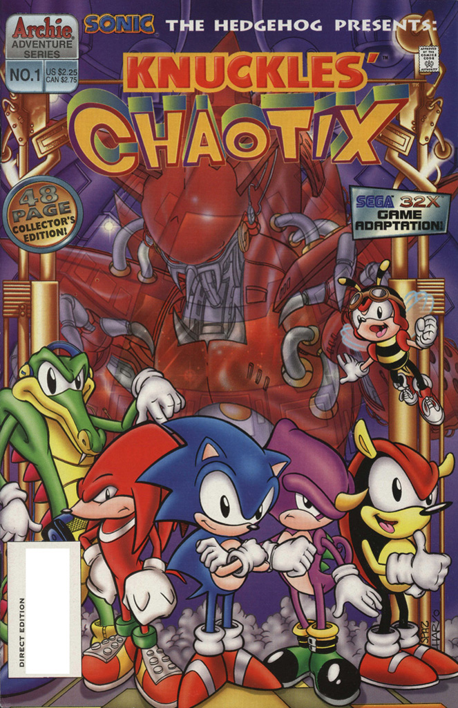 Knuckles' Chaotix #1