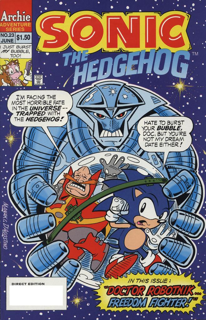 Sonic the Hedgehog #23
