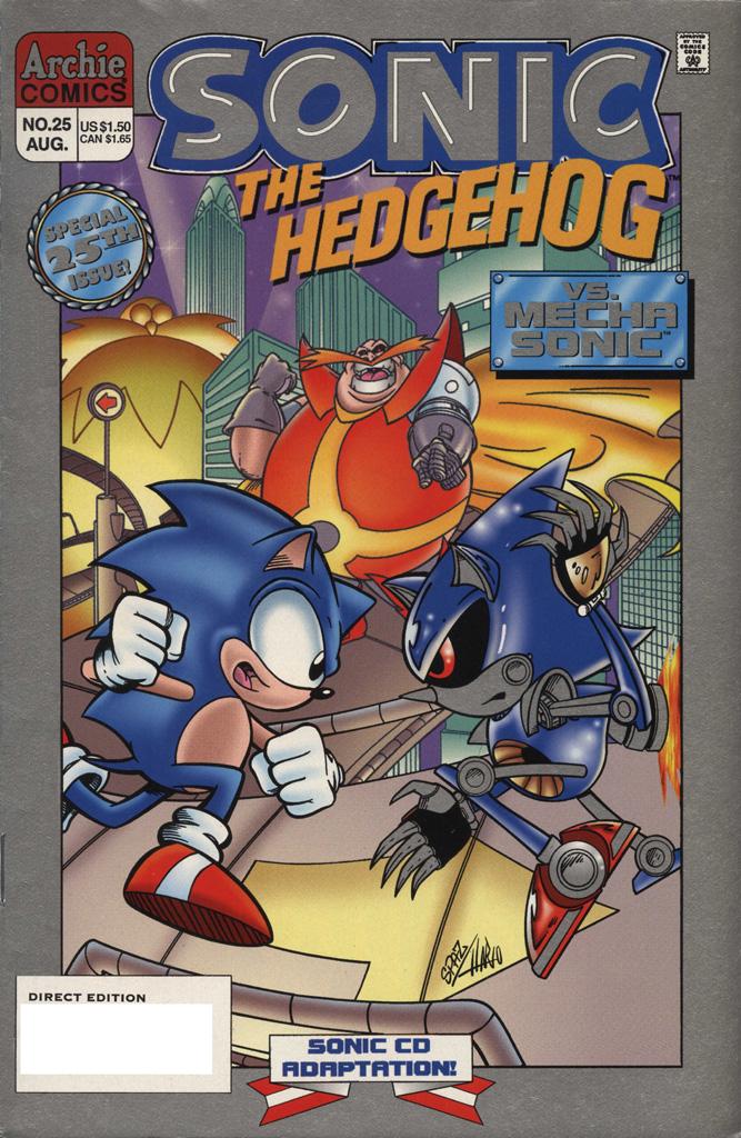 Sonic the Hedgehog #25