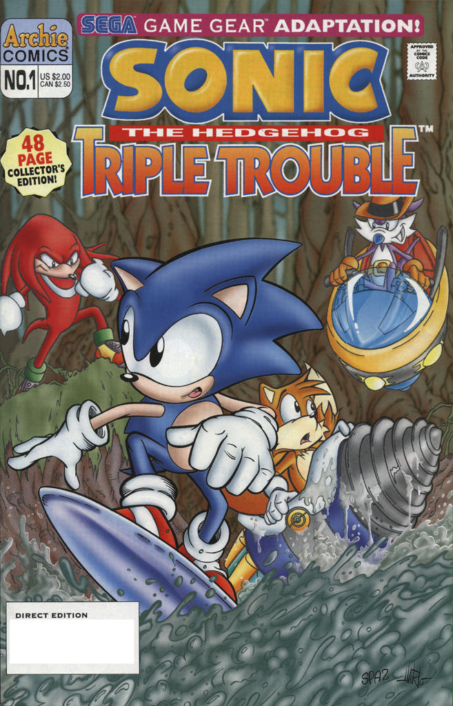Sonic the Hedgehog Triple Trouble #1