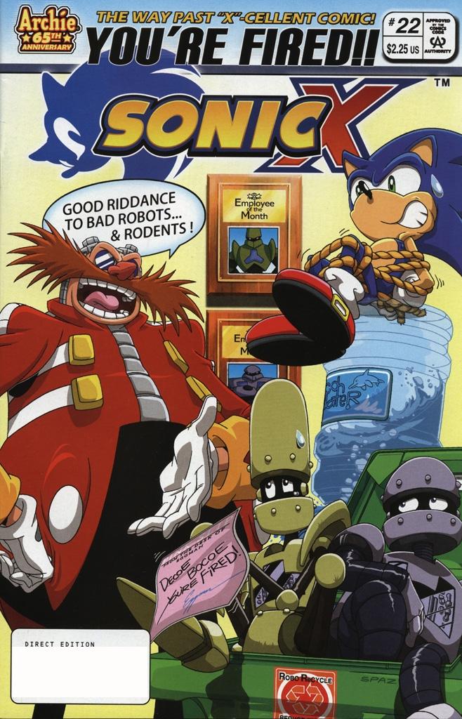 Sonic X #22