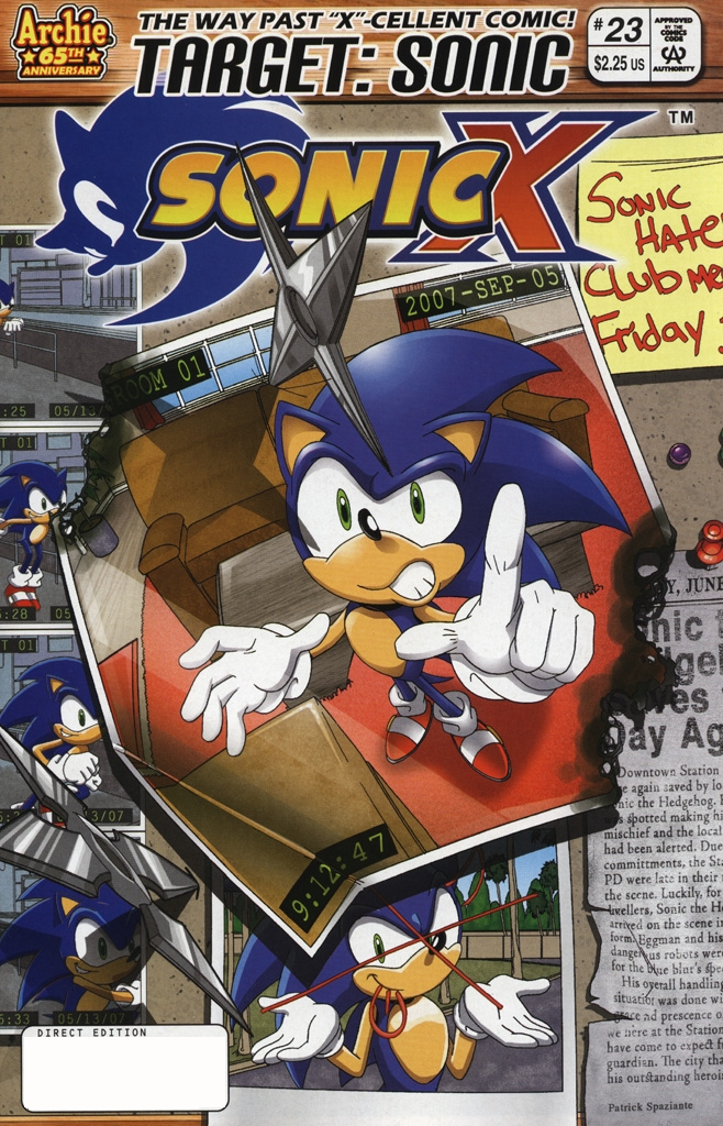 Sonic X #23
