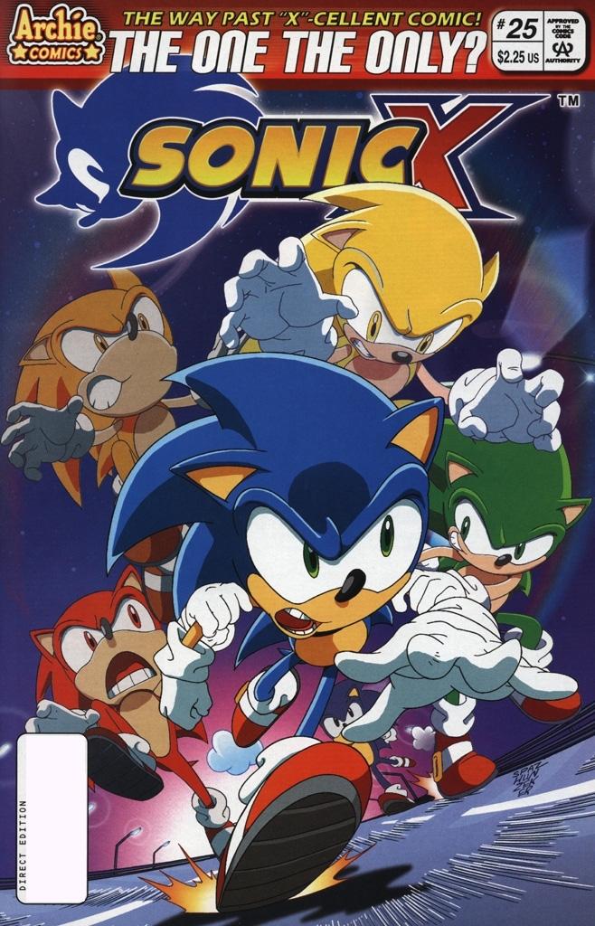 Sonic X #25