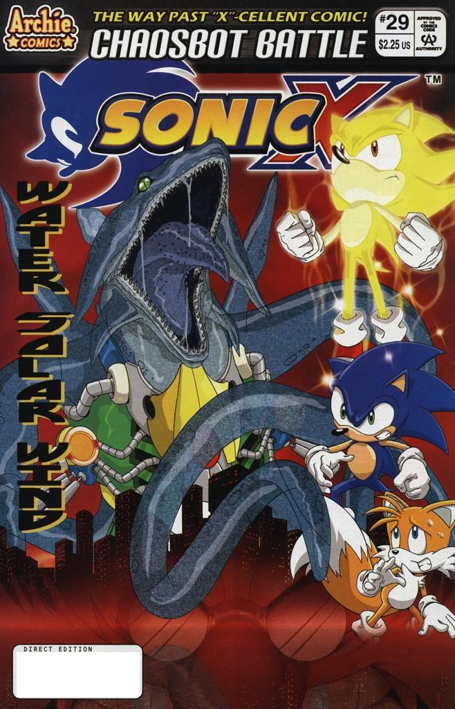 Sonic X #29
