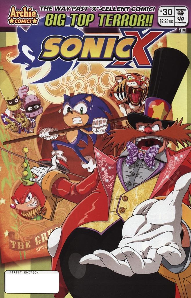 Sonic X #30
