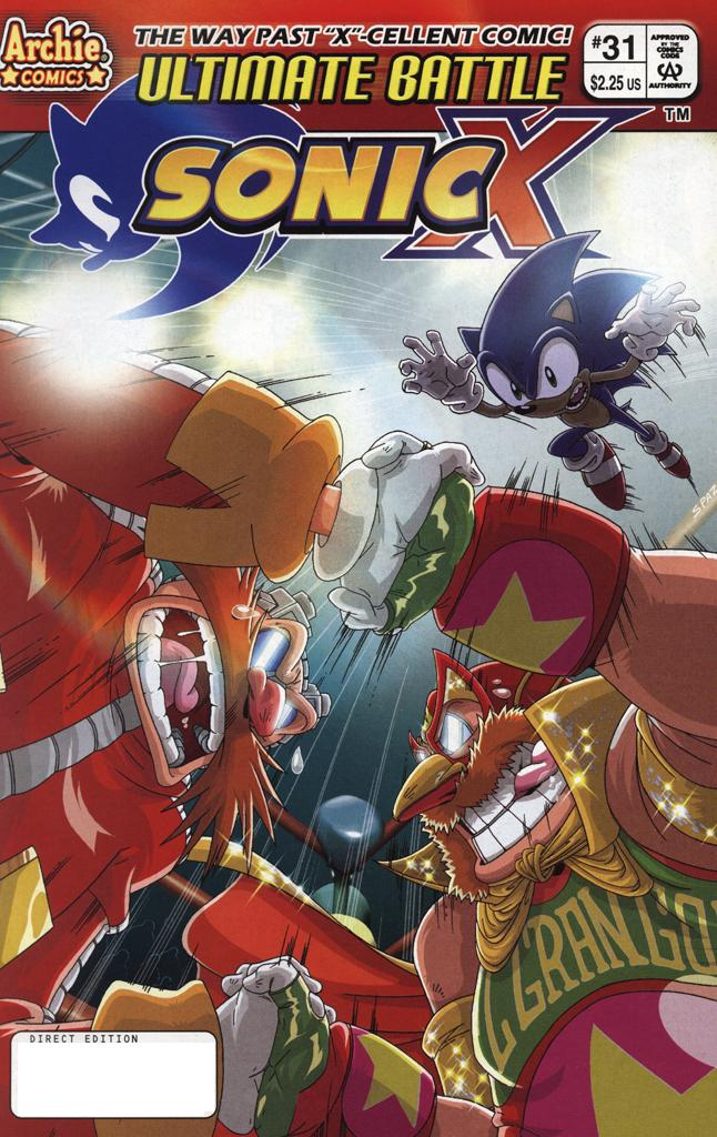 Sonic X #31