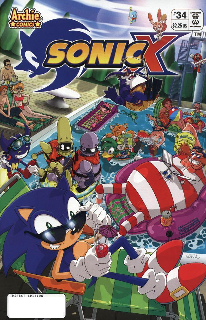 Sonic X #34