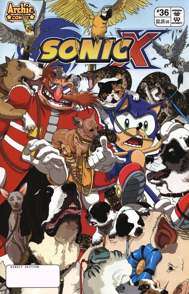 Sonic X #36
