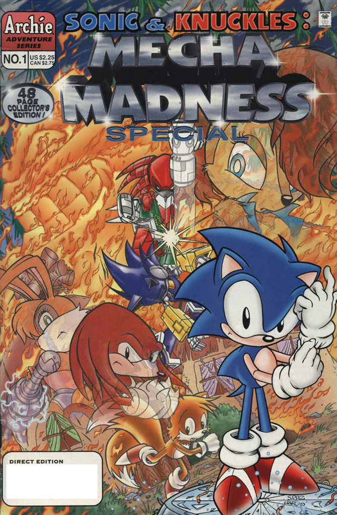 Sonic & Knuckles: Mecha Madness Special #1