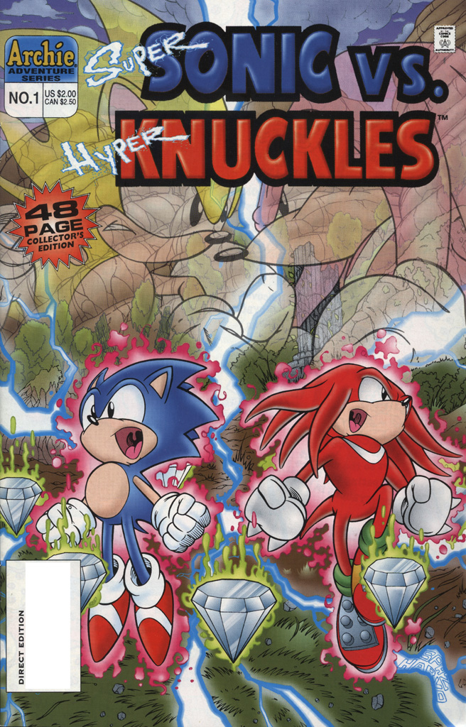 Super Sonic vs. Hyper Knuckles #1