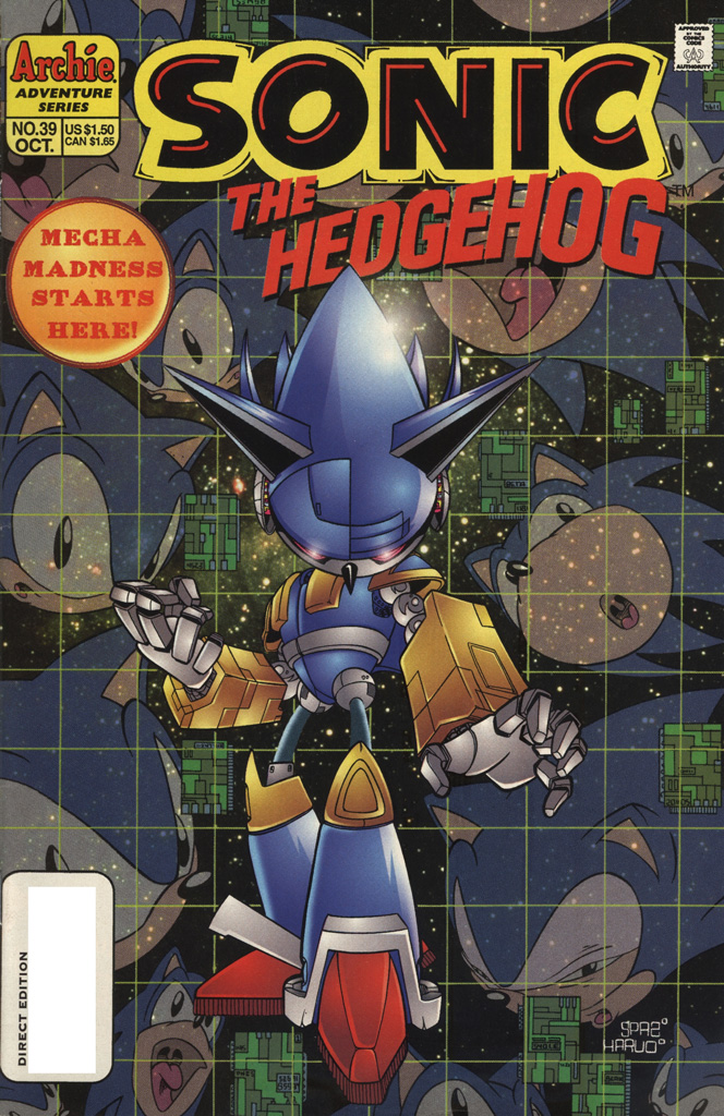 Sonic the Hedgehog #39