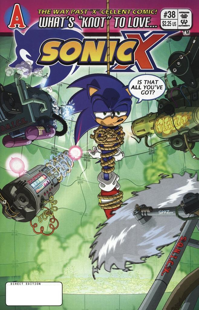 Sonic X #38