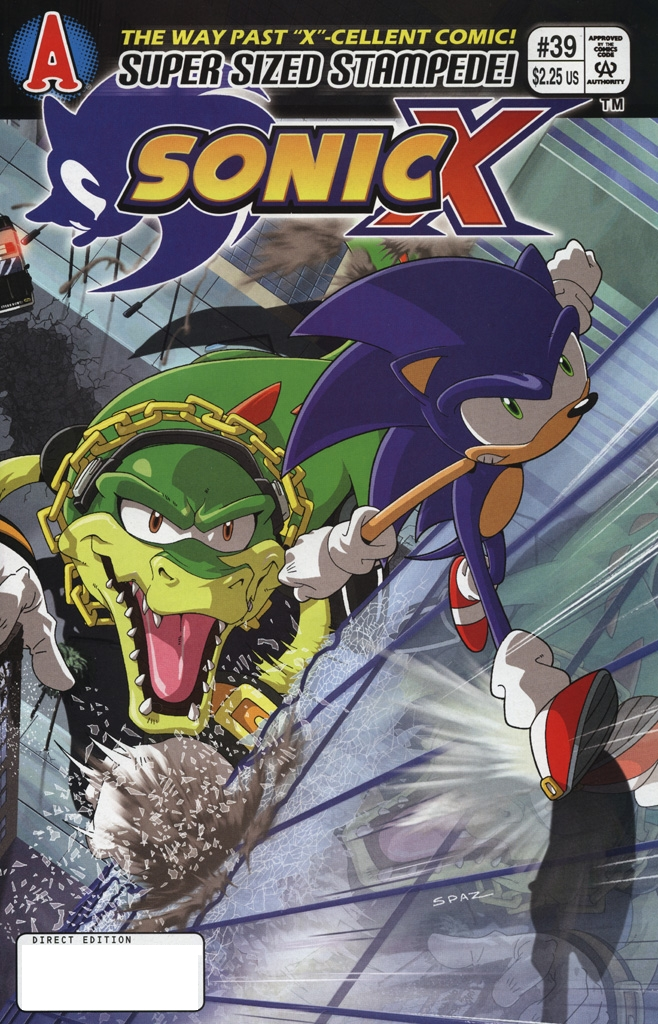 Sonic X #39