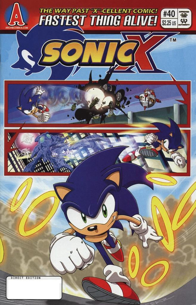 Sonic X #40