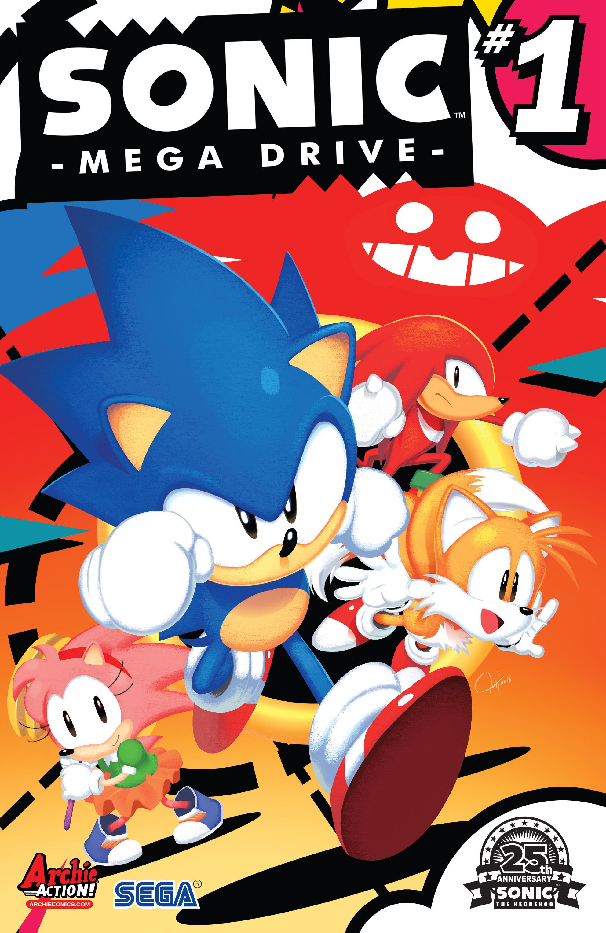 Sonic: Mega Drive #1
