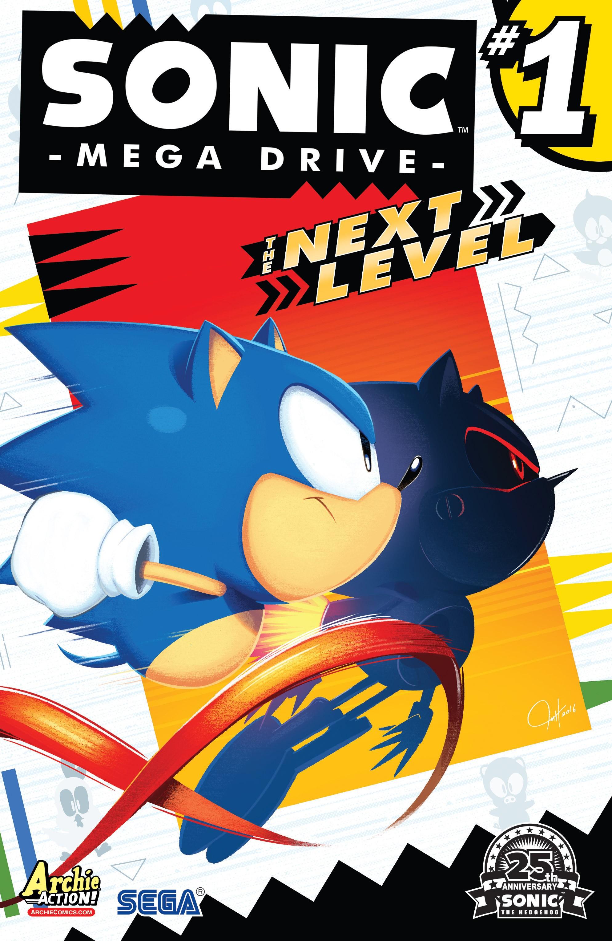 Sonic: Mega Drive – The Next Level #1