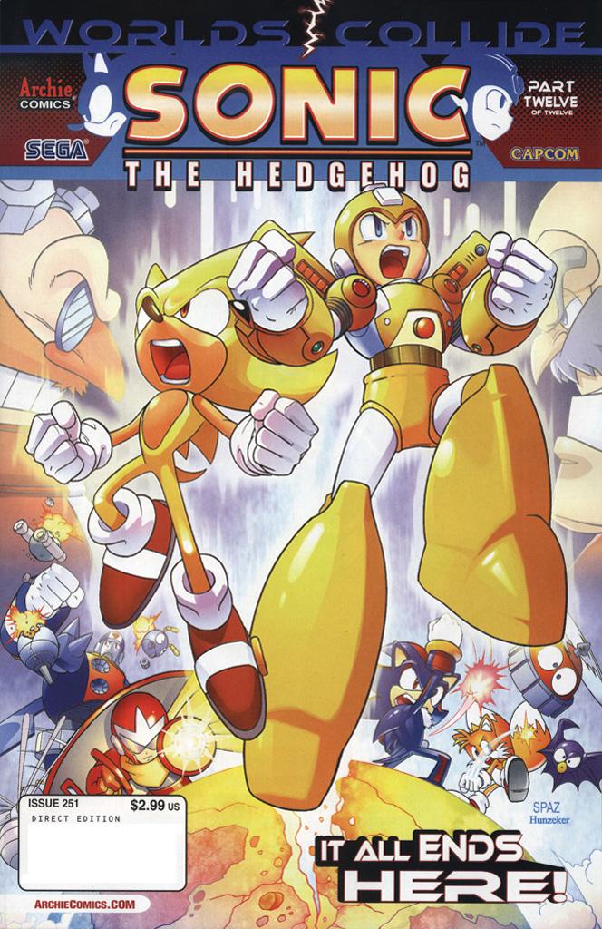 Sonic the Hedgehog #251