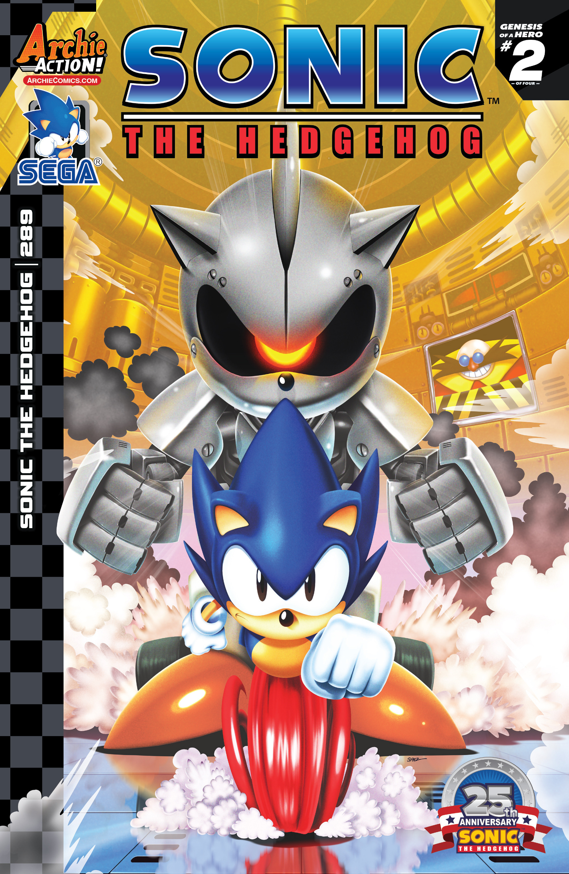 Sonic the Hedgehog #289