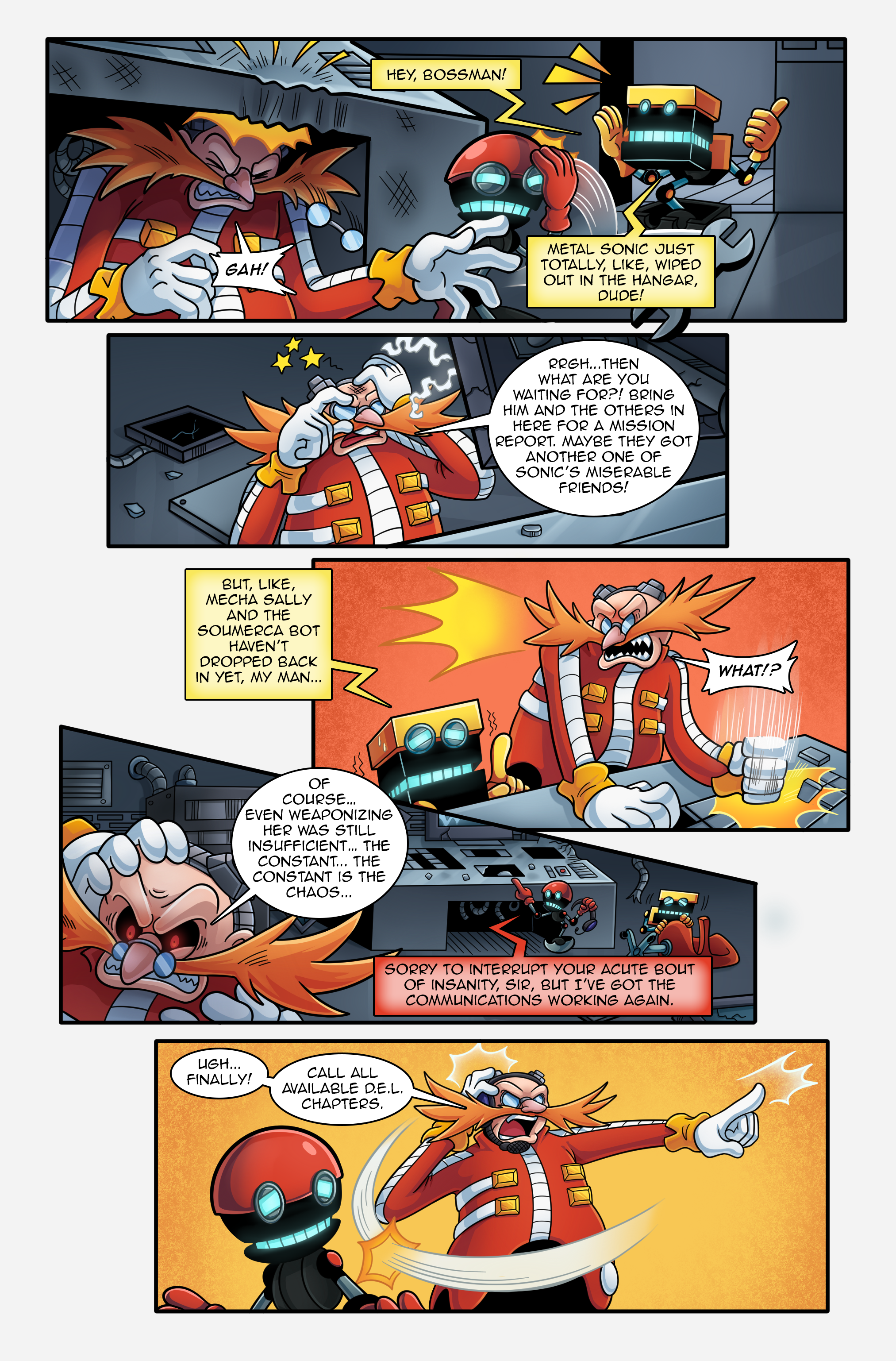 "Sonic the Hedgehog Online #250 – ""On the Back Burner"" – Page 2"