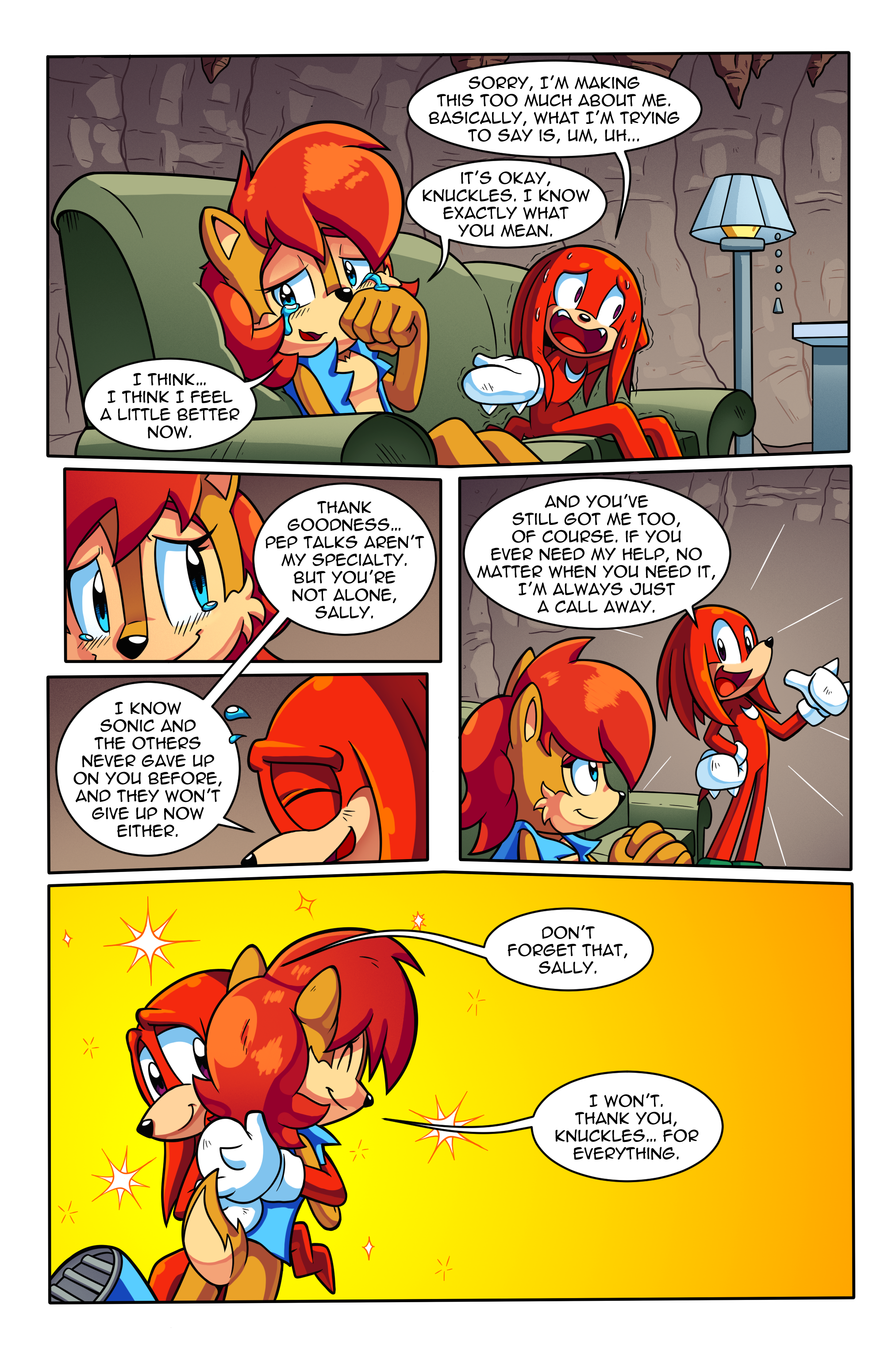 "Sonic the Hedgehog Online #250 – ""Birds of a Feather"" – Page 5"