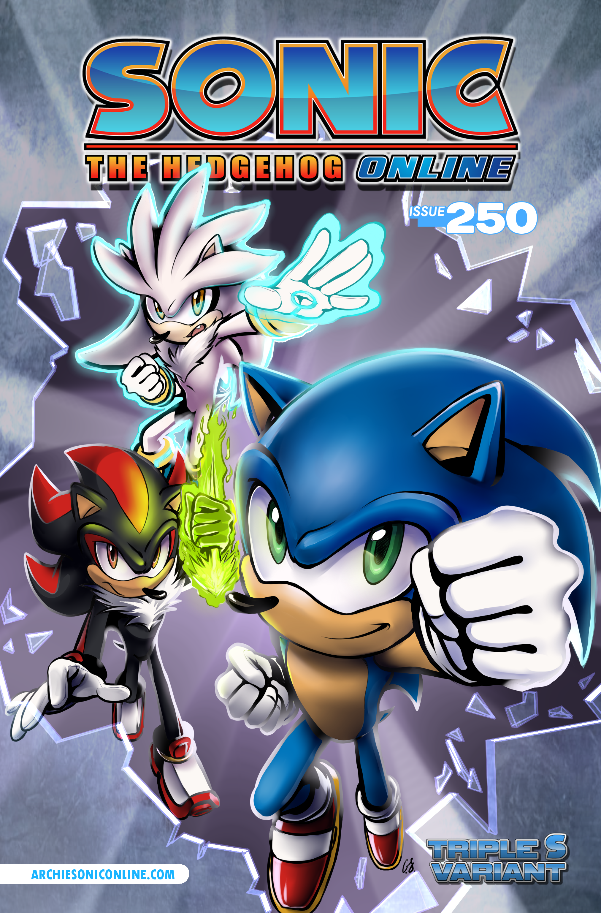 Sonic the Hedgehog Online #250 – Cover B