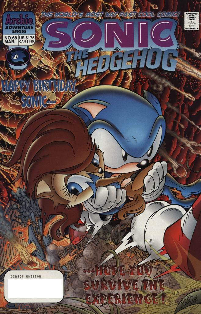 Sonic the Hedgehog #68
