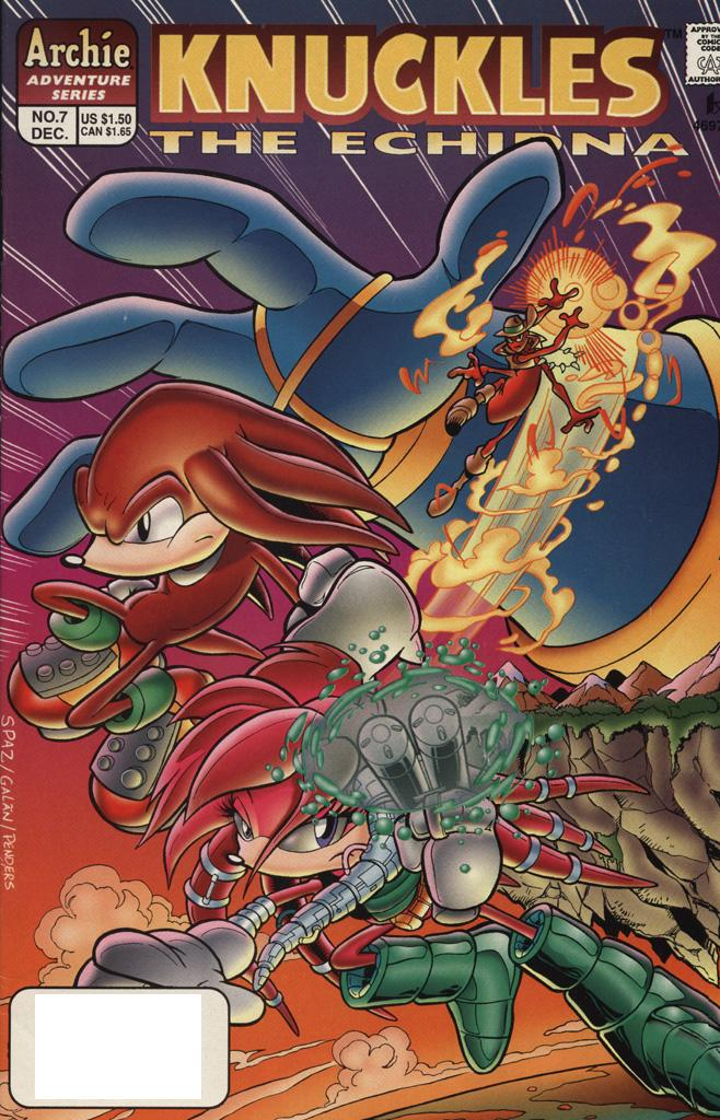 Knuckles the Echidna #7